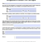 florida health care power of attorney form