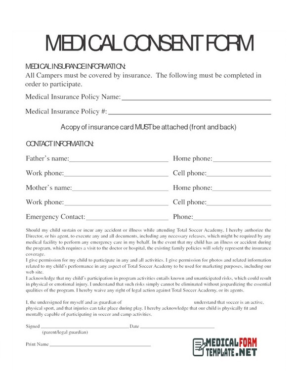 free printable medical forms 09