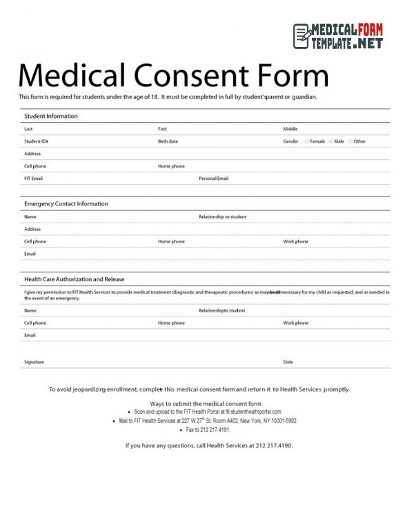 free printable medical forms