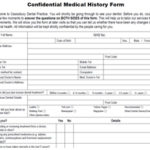 Medical History Form - Cassiobury Dental Practice