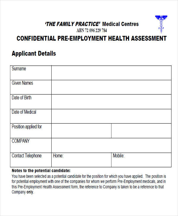 Medical Forms in PDF