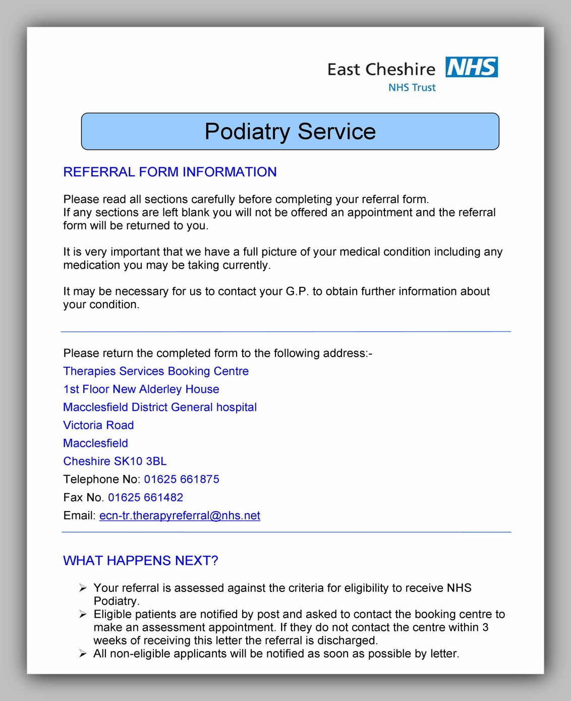 Medical Referral Form Template 08