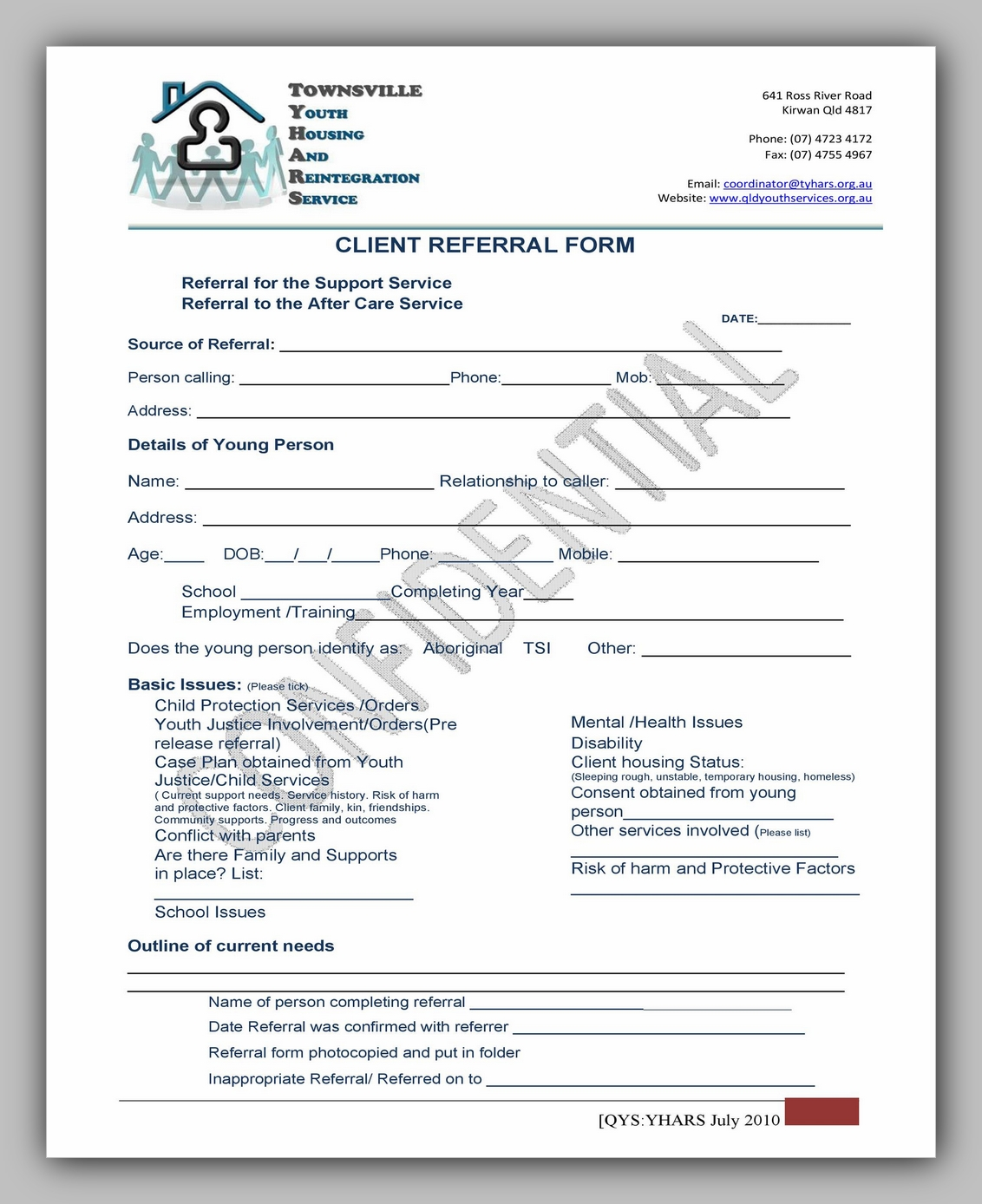 Medical Referral Form Template 18