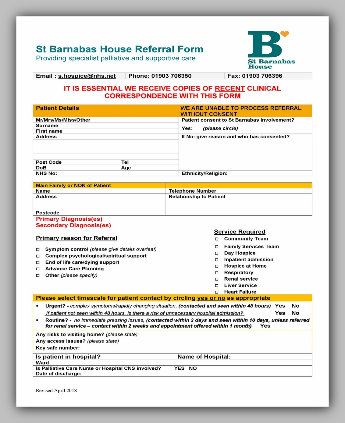 Medical Referral Form Template 32