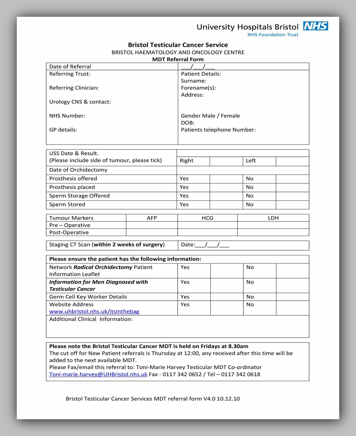 Medical Referral Form Template 38