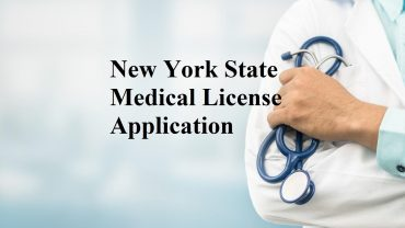 New York State Medical License Application images